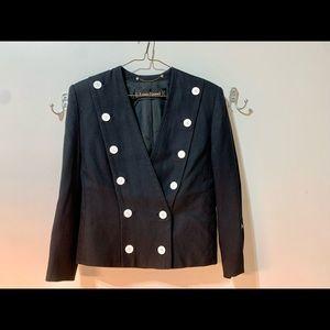 Vintage Louis Feraud Military Style Jacket-Sz 6
